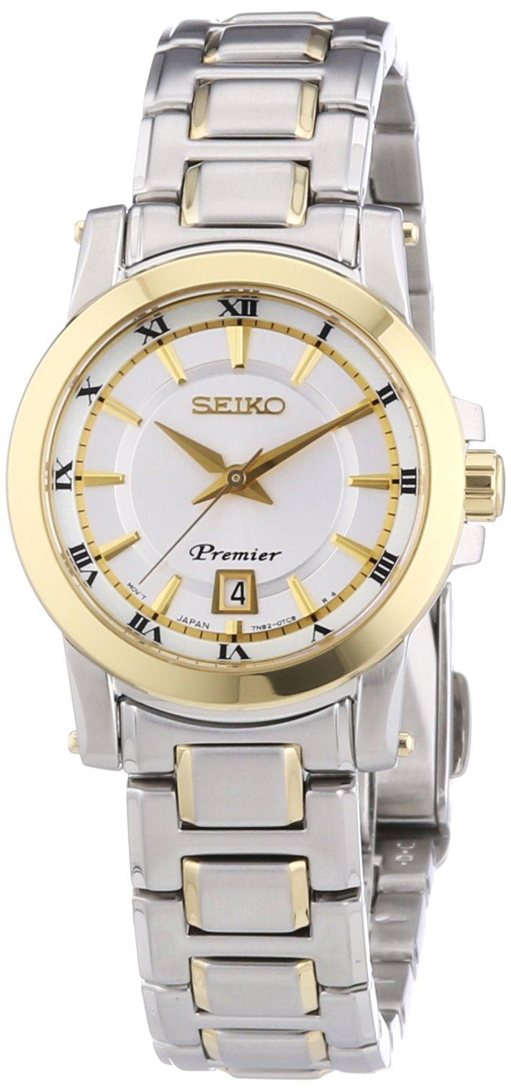 Damen-Armbanduhr XS Analog Quarz Edelstahl beschichtet SXDF44P1