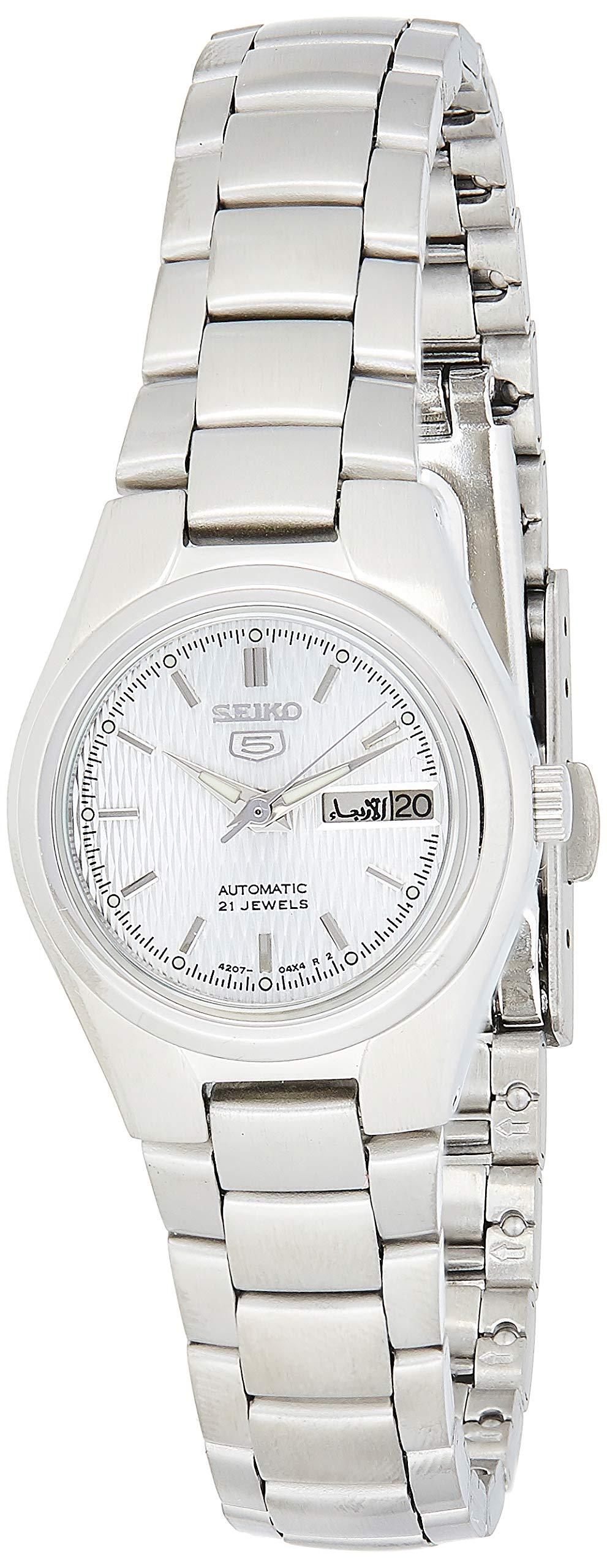 Damen-Uhren Rund Analog Automatik Edelstahl 32003056