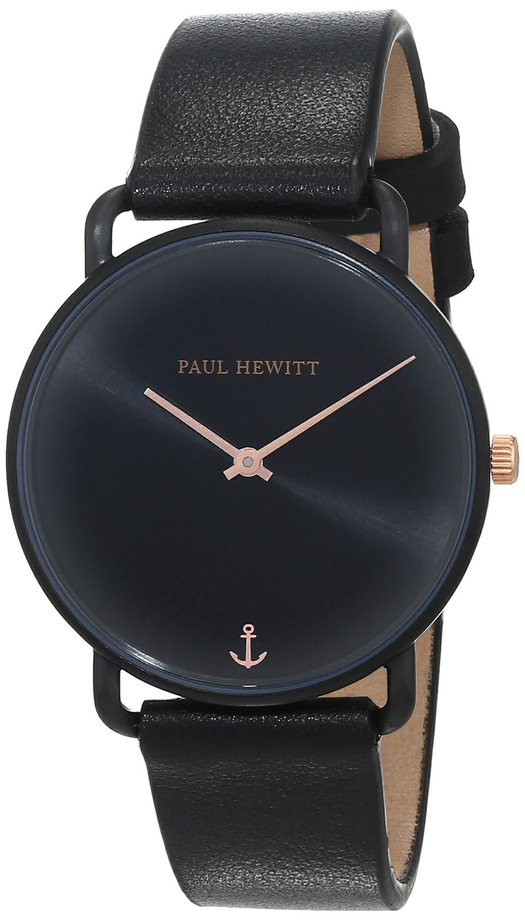 Armbanduhr Damen Miss Ocean Black Sunray - Damen Uhr (Schwarz), schwarzes Ziffernblatt