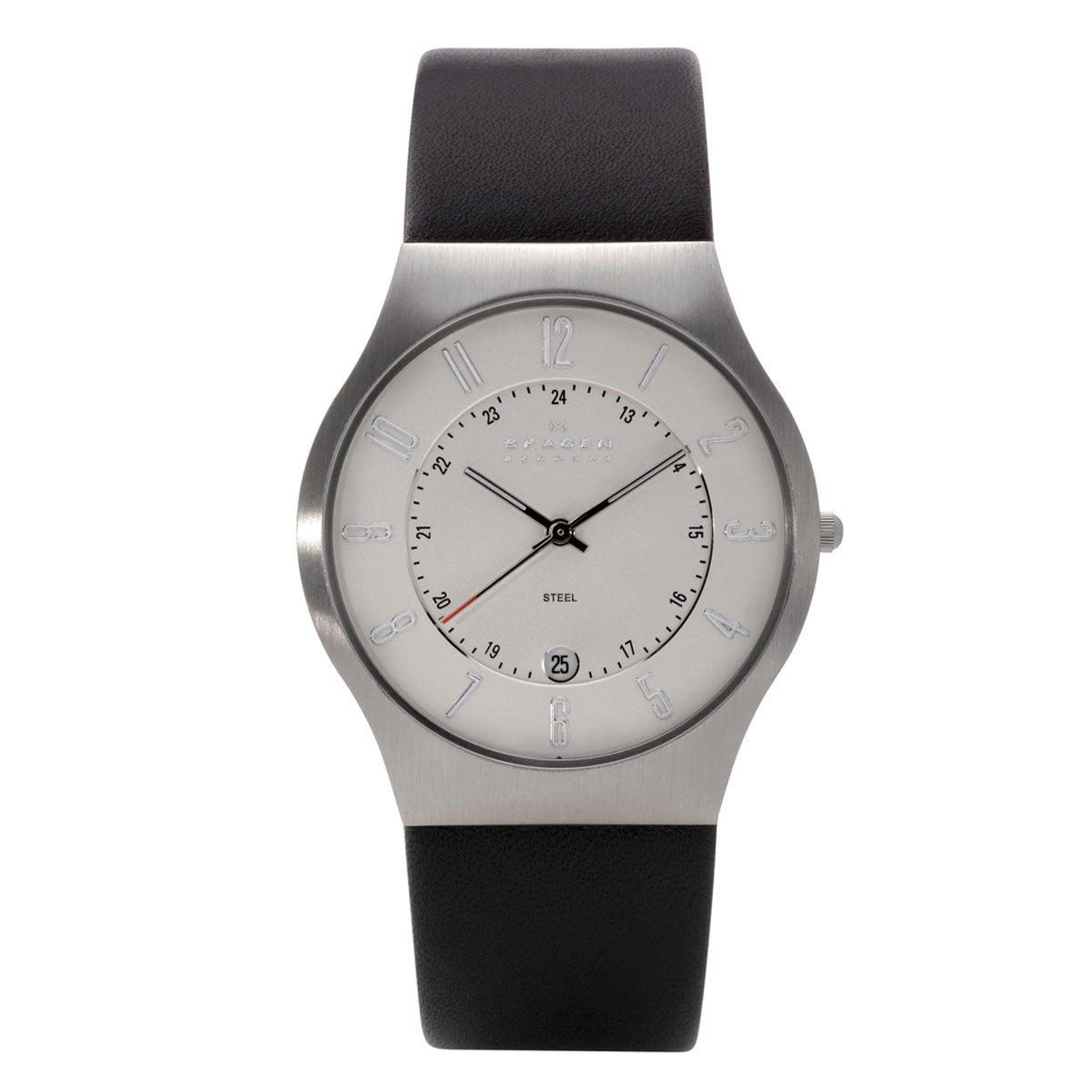 Herren-Armbanduhr Analog Quarz Leder 233XXLSLCB