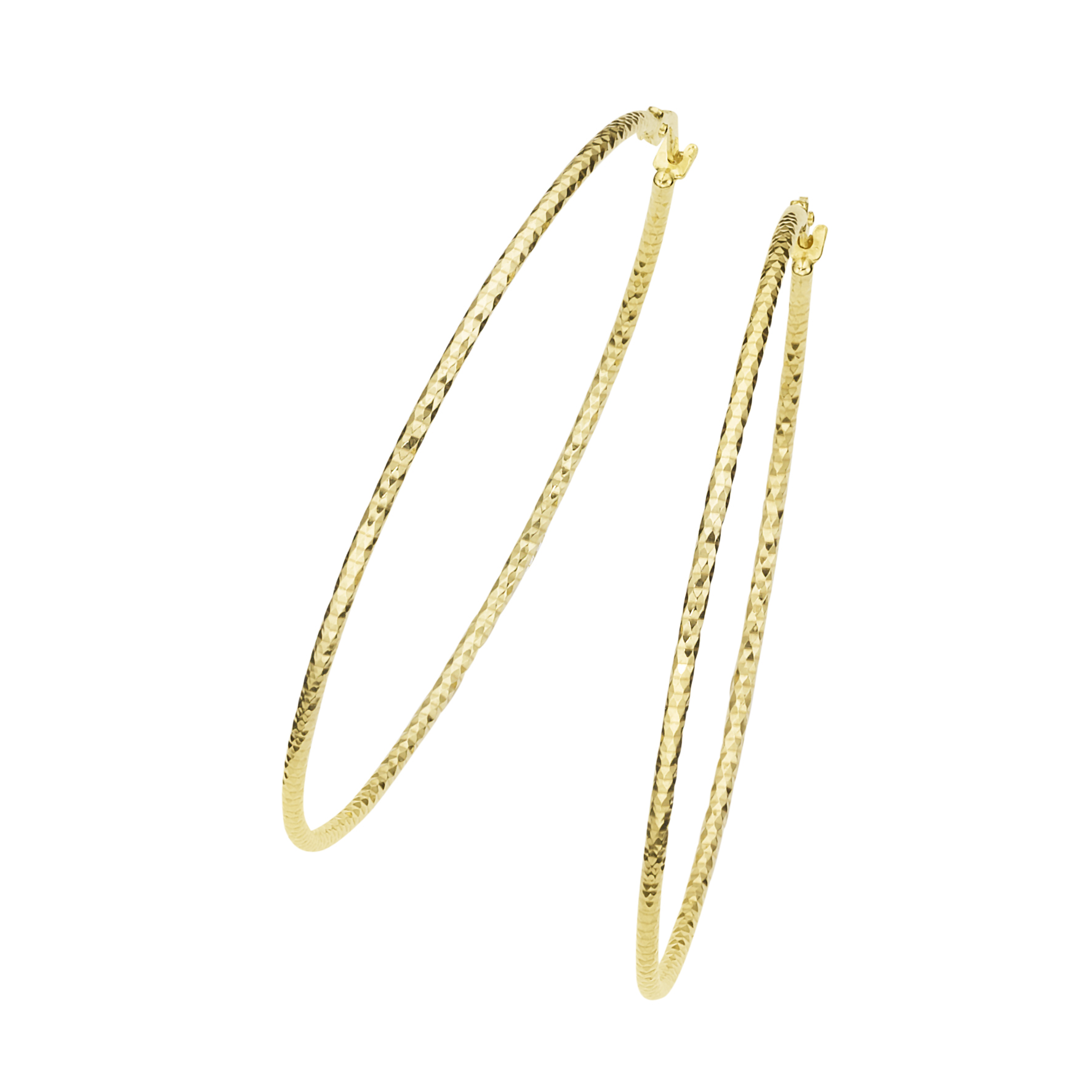 mit diamantierter Oberfläche, Gold 375