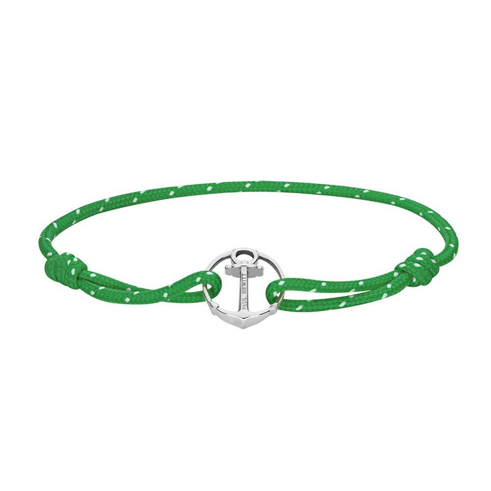 Anker Armband Damen und Herren ReBrace - Segeltau Armband Unisex mit Anker Schmuck aus Edelstahl