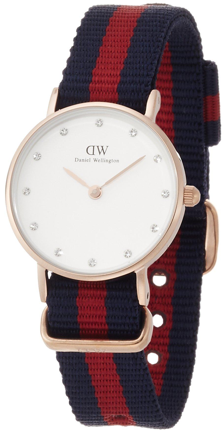 Daniel Wellington Trenduhren  Classy Oxford Rose gold Uhr Damen Band Dunkelblau 0905DW NEU