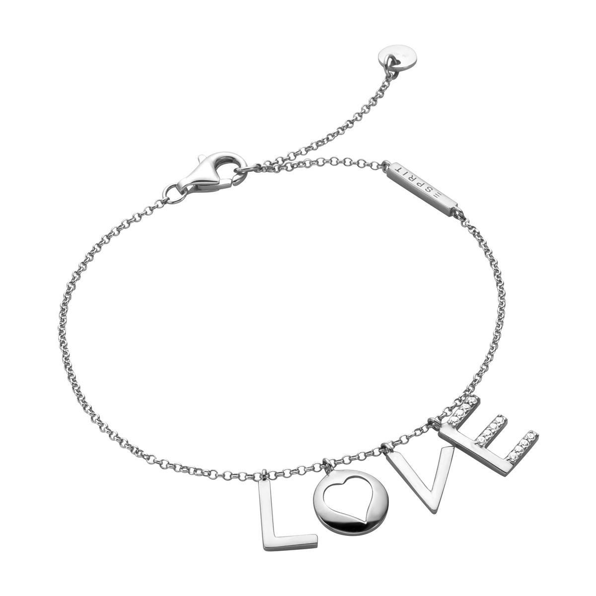 ESBR00231118 Armband Amory Silber mit Zirkonia