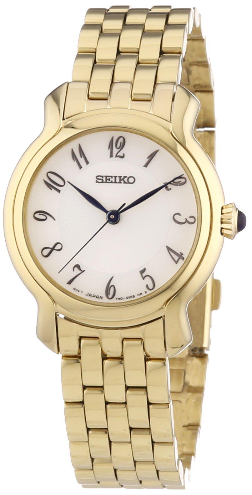 Damen-Armbanduhr XS Damenuhren Analog Quarz Edelstahl SRZ392P1