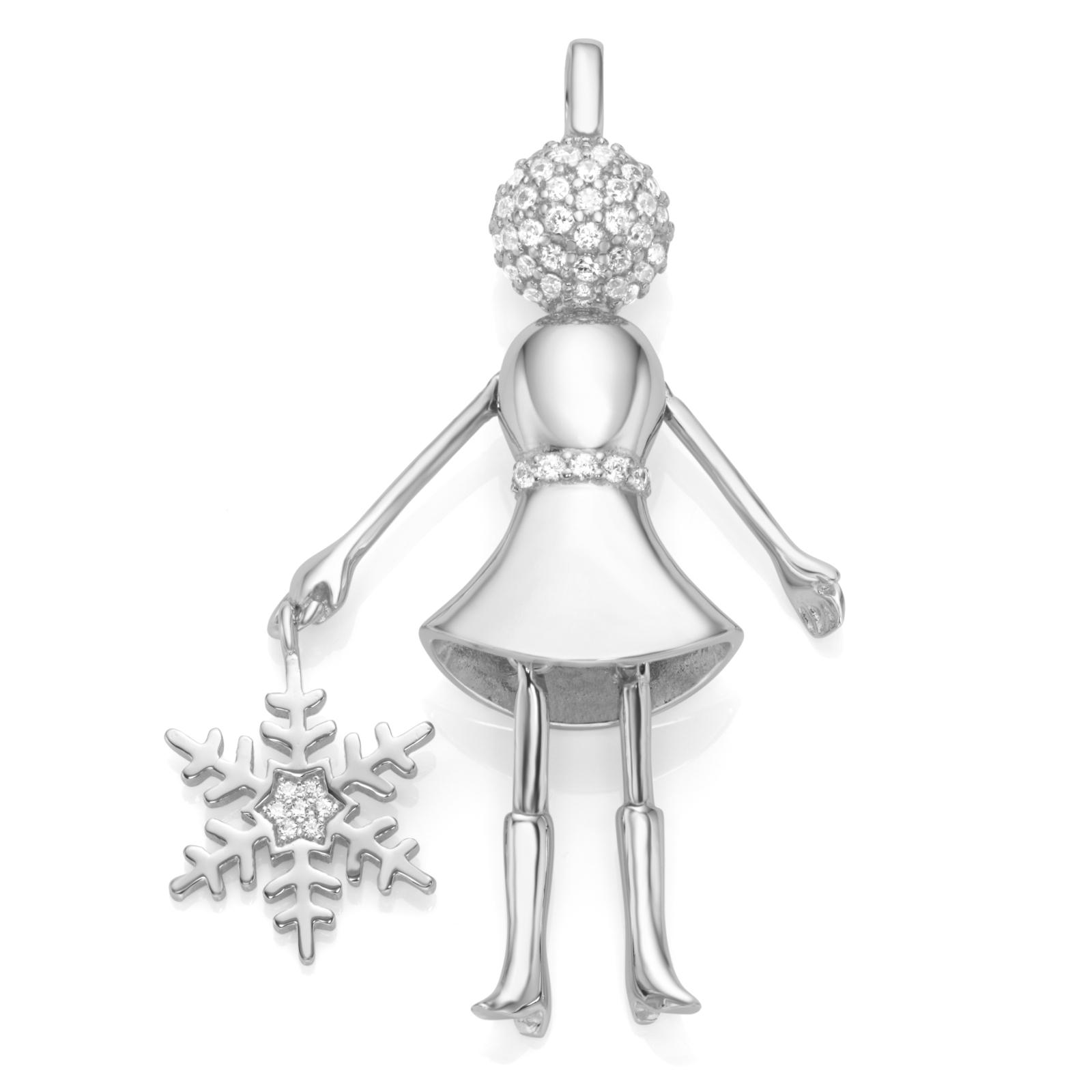 Bella Giulia Püppchen Eiskristall mit Zirkonia