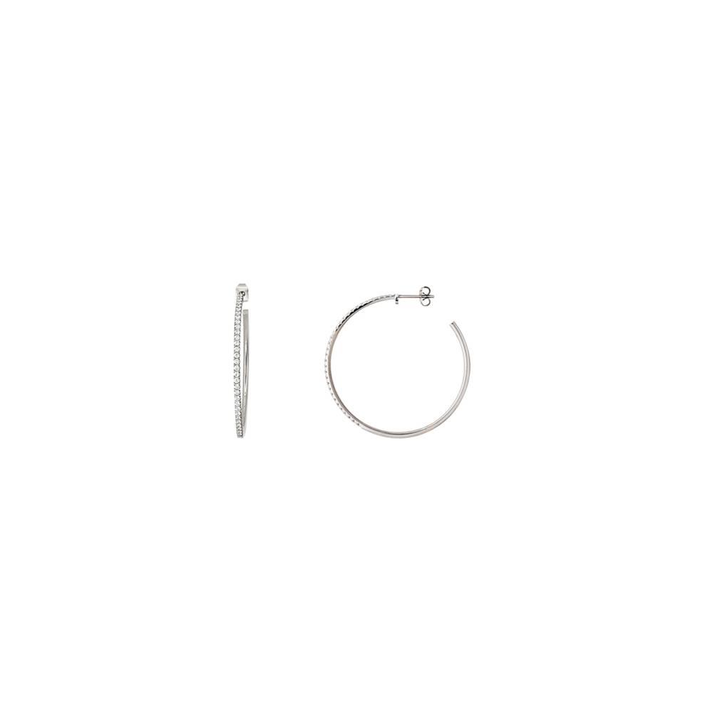 Damen-Ohrring, Stahl, XENOX classic X2297