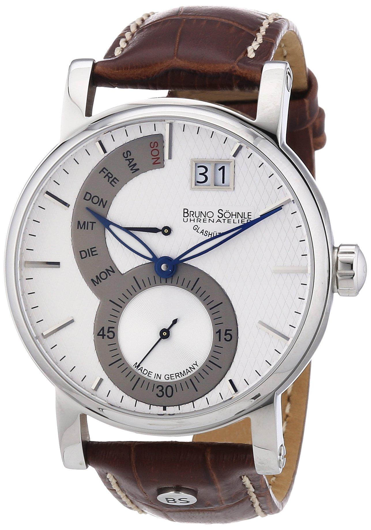 Herren-Armbanduhr Pesaro II Analog Quarz Leder 17-13073-283