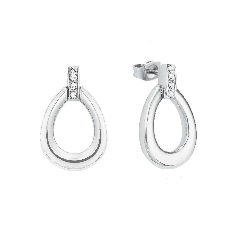 Ohrring für Damen aus Edelstahl mit Kristallen von Swarovski®