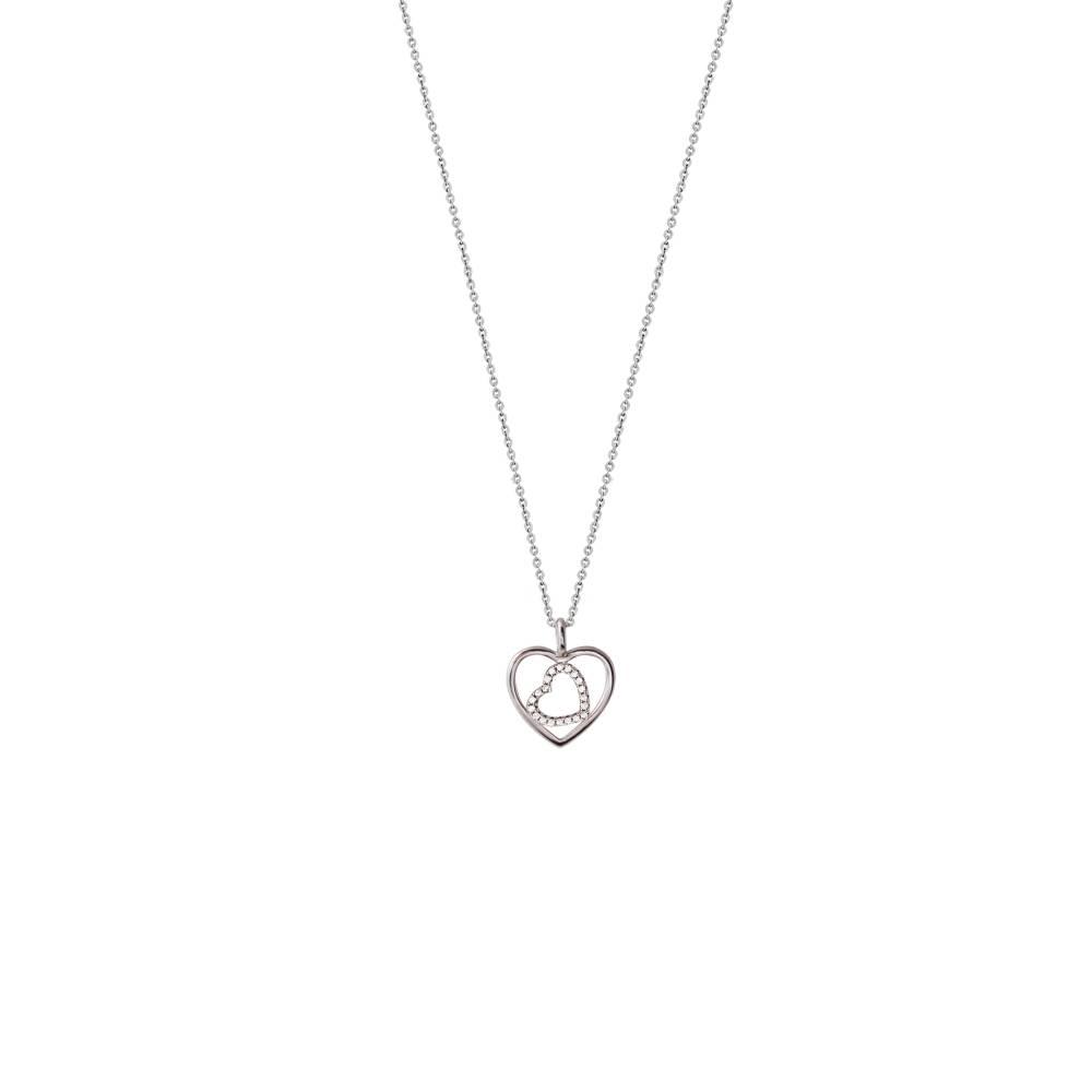 Damen-Collier, Silber, Love Story XS2775, 400-450mm