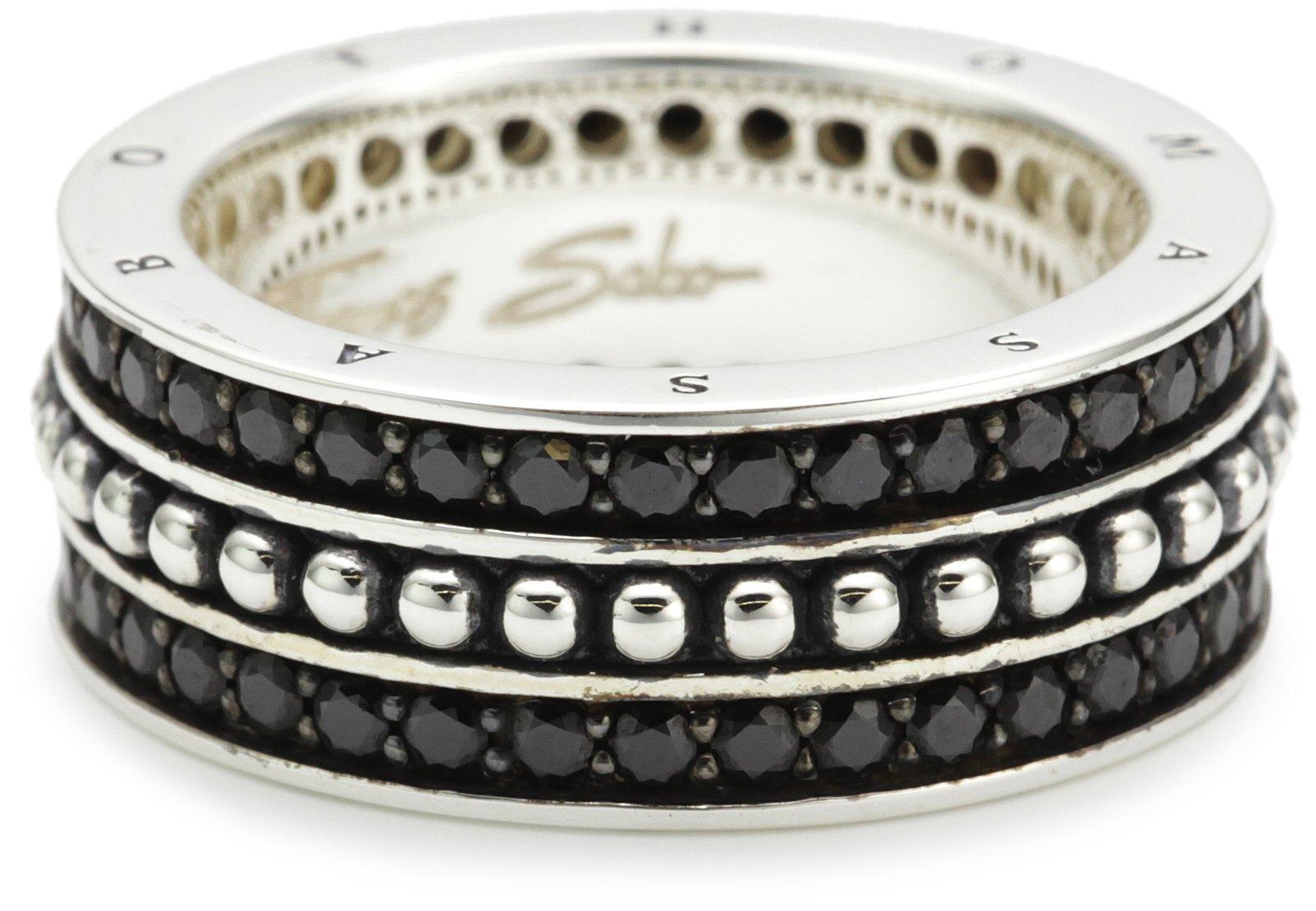 Unisex-Ring Sterling-Silber 925 TR1879-051-11-58