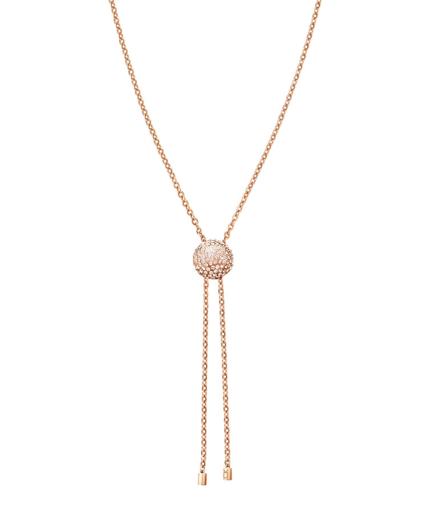 Damen-Kette Edelstahl/Kristall Swarovski Kristalle 32001101