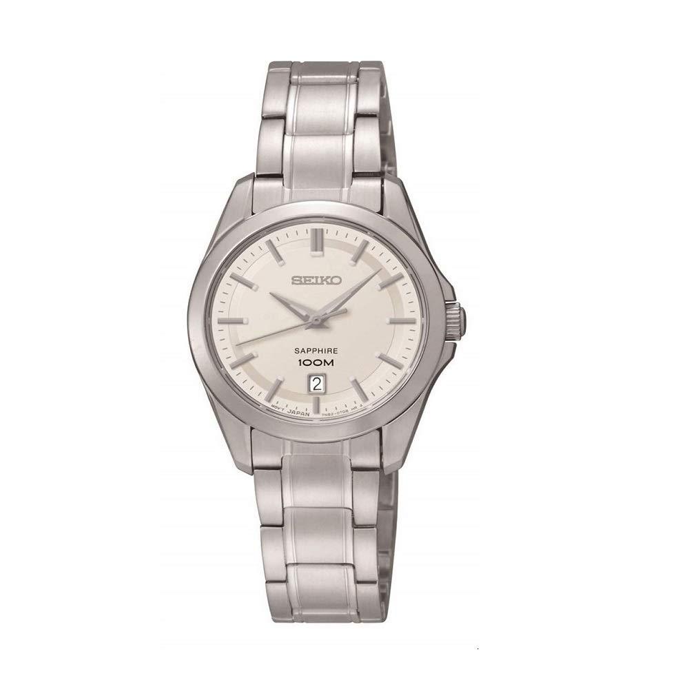 Damen-Armbanduhr XS Damenuhren Analog Quarz Edelstahl SXDF55P1