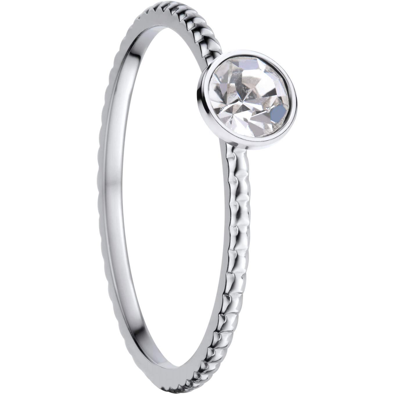Bering Innenring 562-17-80 Zirkonia Element ultraschmal Silber