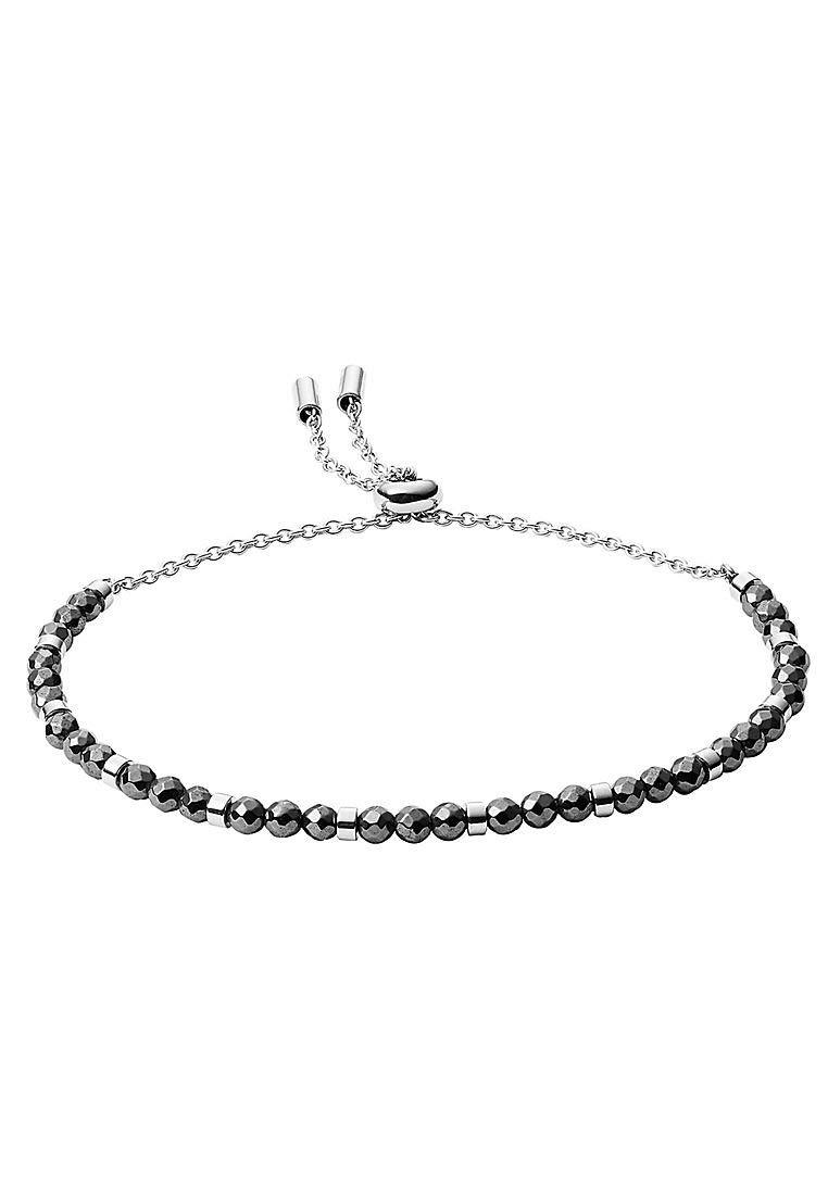 JF03269040 Damen Armband holiday cut out Silber Grau 21 cm