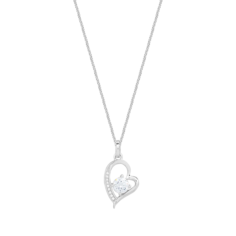 Halskette XS3422 Rhodiniert