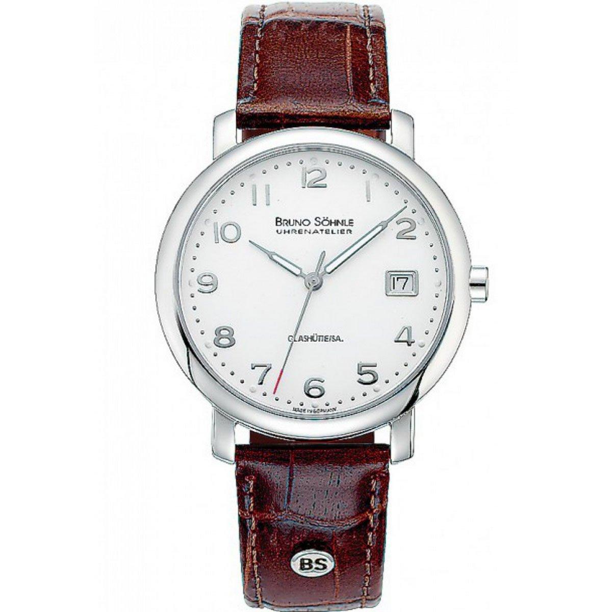Herren-Armbanduhr Momento Analog Quarz Leder 17-13016-223