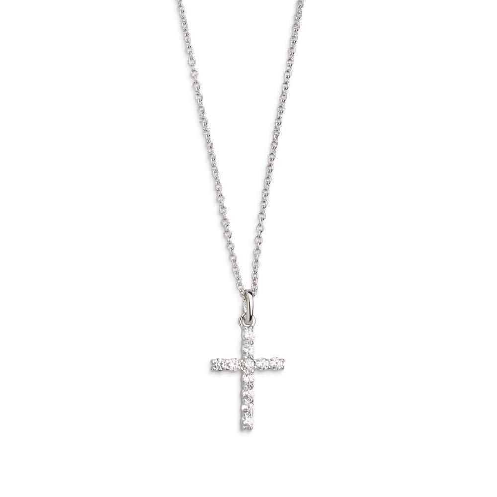 XS8617 Halskette mit Anhänger Modern Classic Kreuz Silber 45 cm