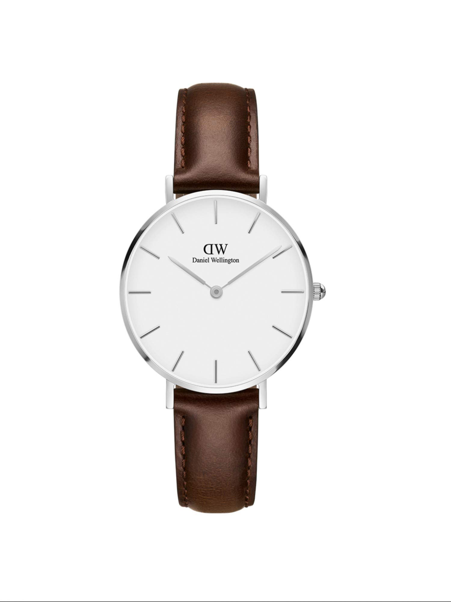 Damen Analog Quarz Uhr mit Leder Armband DW00100183