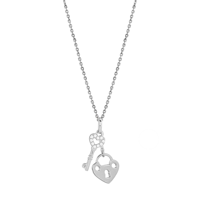 Halskette XS3411K Rhodiniert