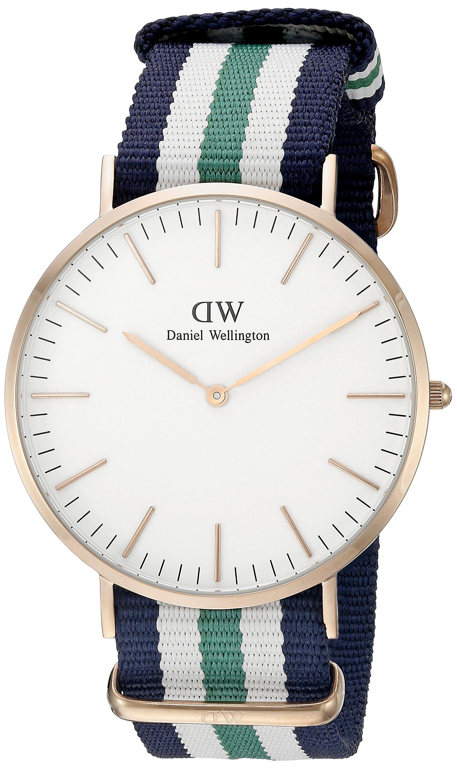 Daniel Wellington Trenduhren  Herren-Uhren Analog Quarz Perlon/Nylon 32002447