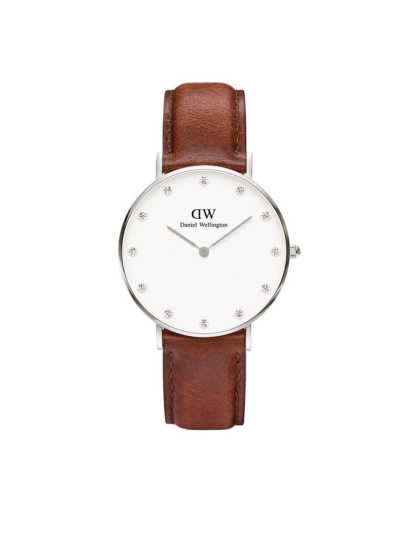 Damen Analog Quarz Uhr mit Leder Armband DW00100079