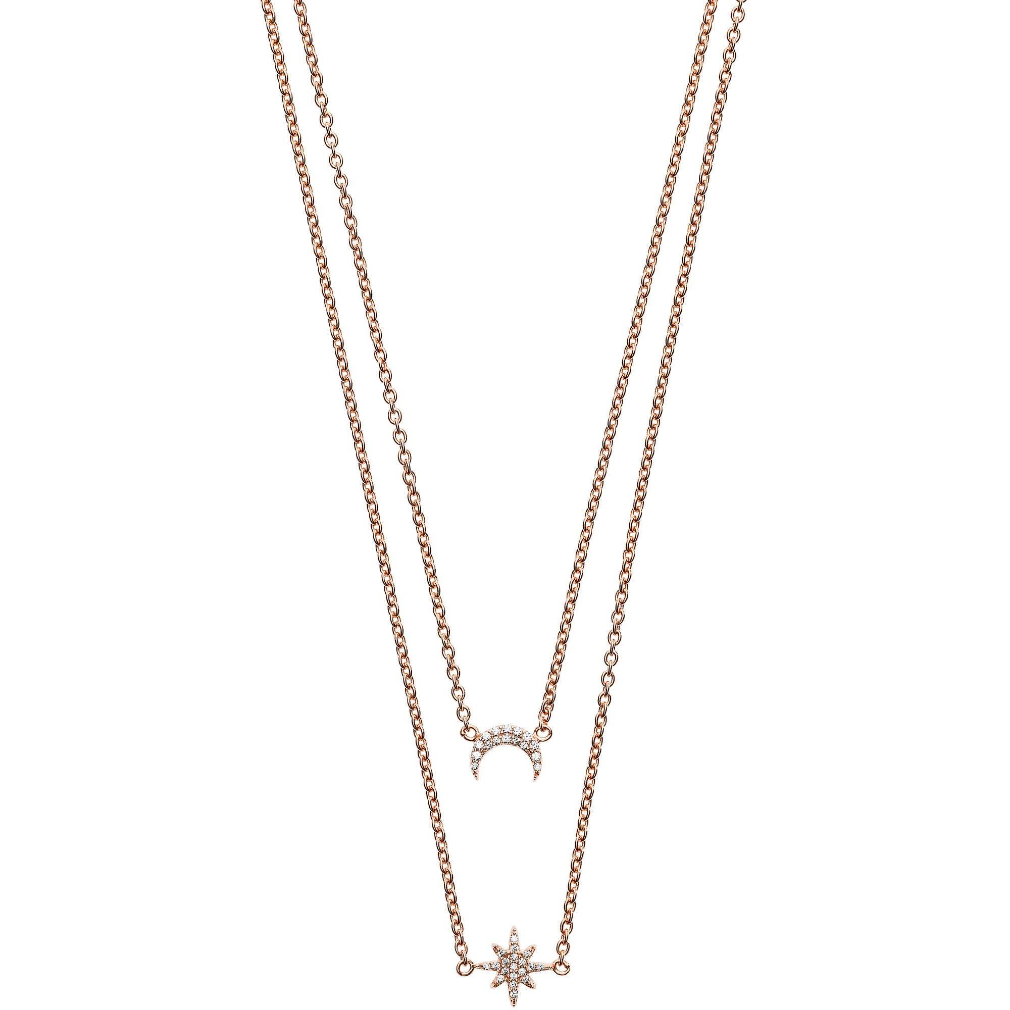 Damen Halskette mit Armband EG3393221