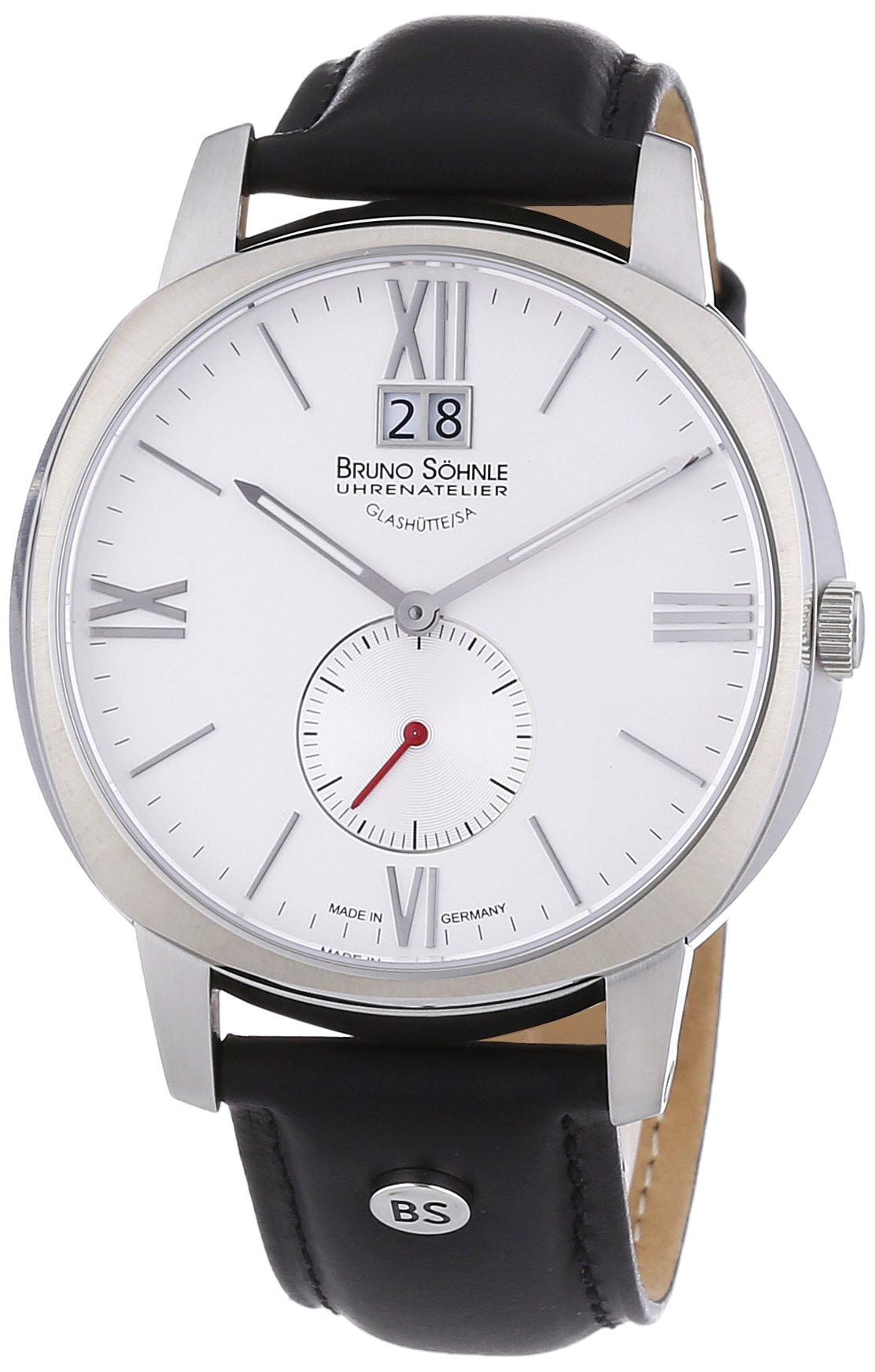 Herren-Armbanduhr XL Analog Quarz Leder 17-13146-231