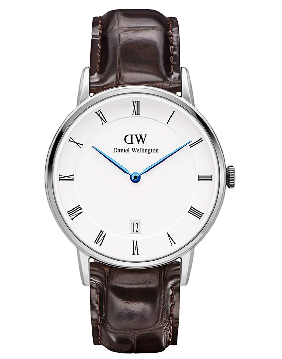 Damen Analog Quarz Uhr mit Leder Armband DW00100097