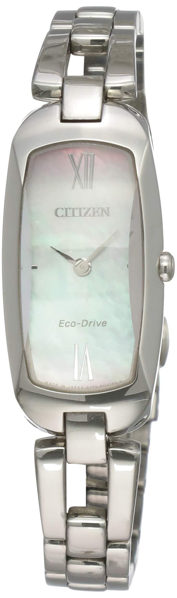 Damen-Armbanduhr XS  L Analog Quarz Edelstahl EX1100-51D