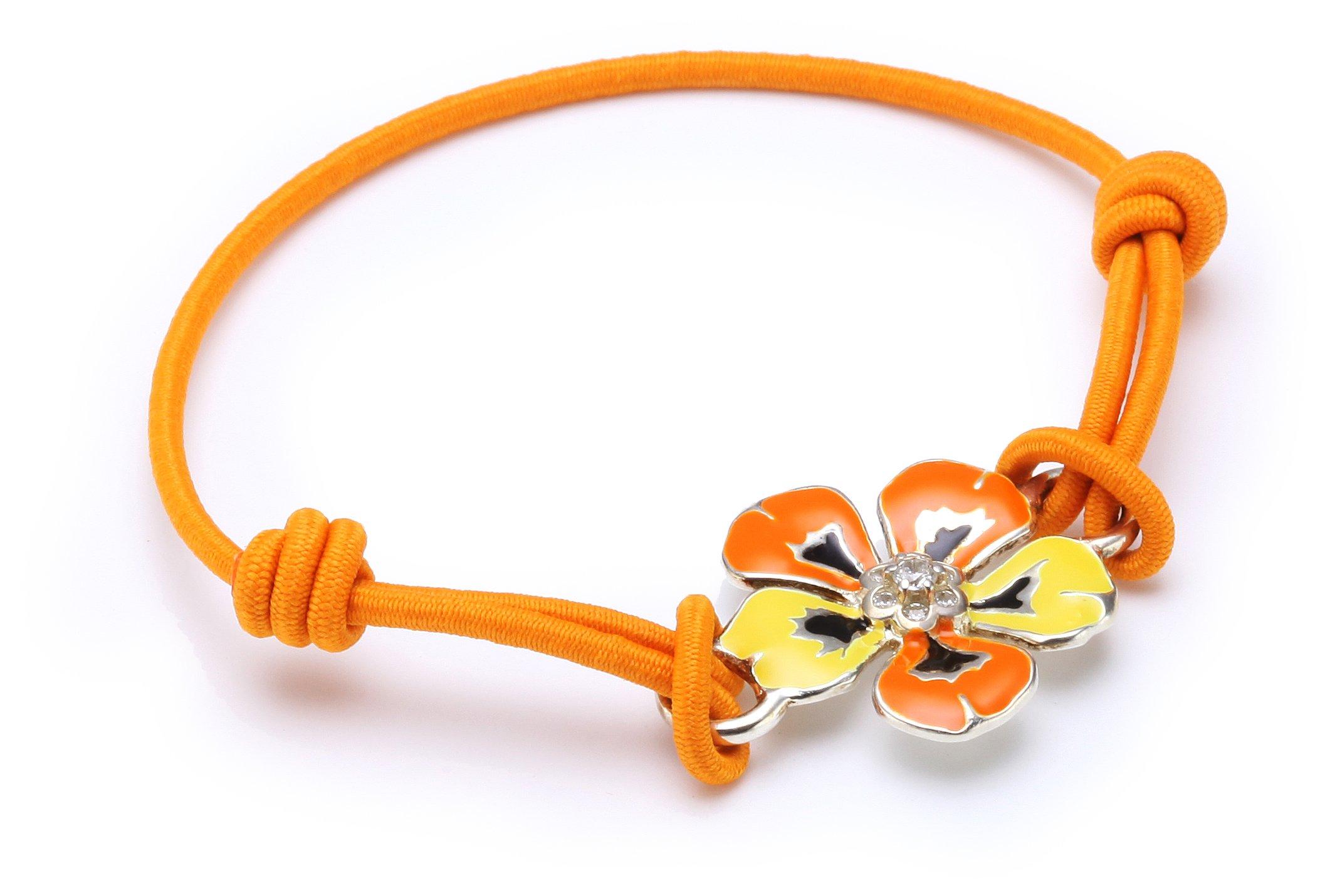 Damen-Armband Seasonal Tropische Insel Blüte A1013-138-8