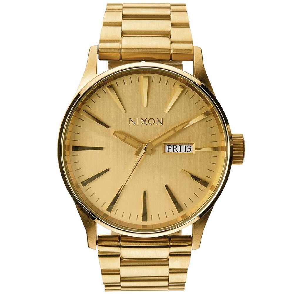 Herren Analog Quarz Uhr mit Edelstahl beschichtet Armband A356502-00