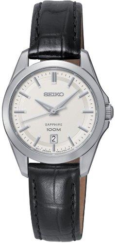 Damen-Armbanduhr XS Damenuhren Analog Quarz Leder SXDF55P2