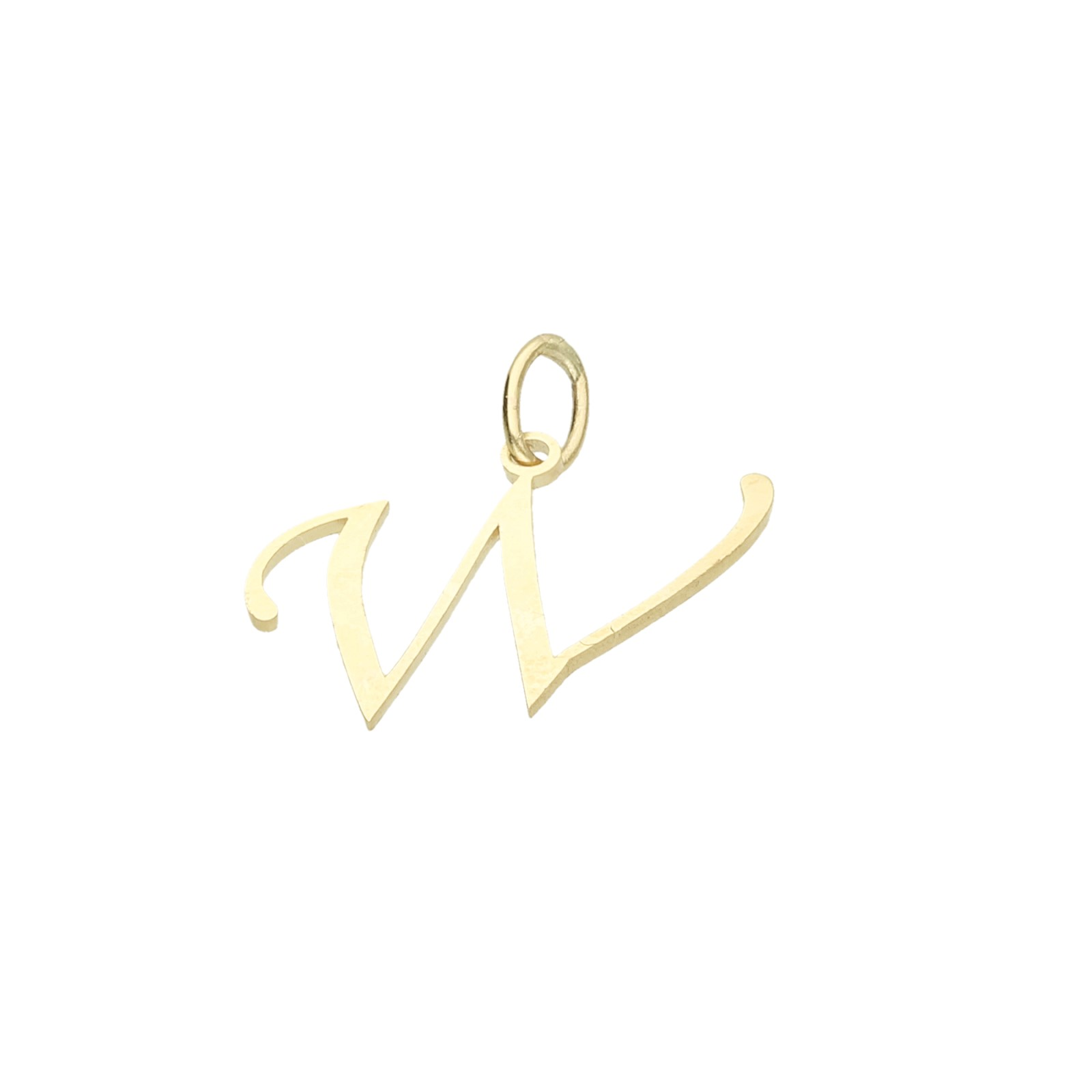 Buchstabe W, Gold 333