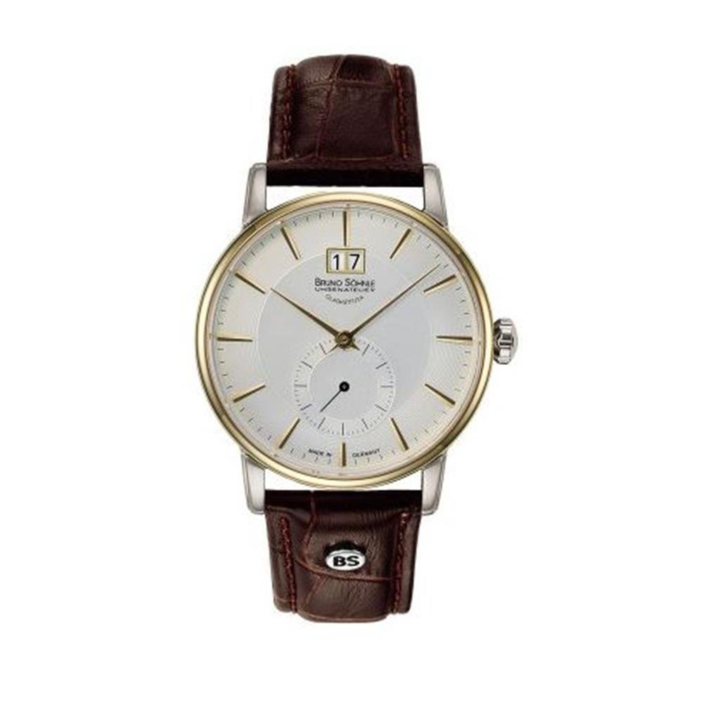 Herren Analog Quarz Uhr mit Leder Armband 17-23055-241