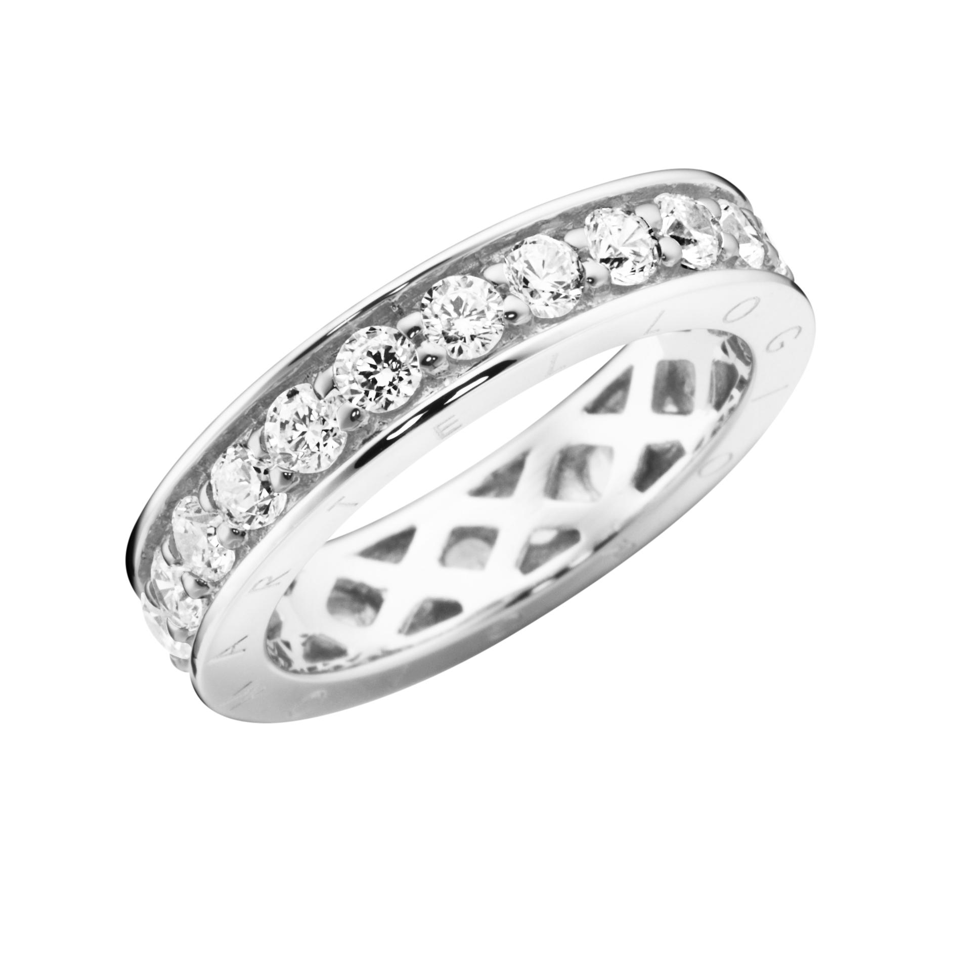 Memoire-Ring mit Zirkonia