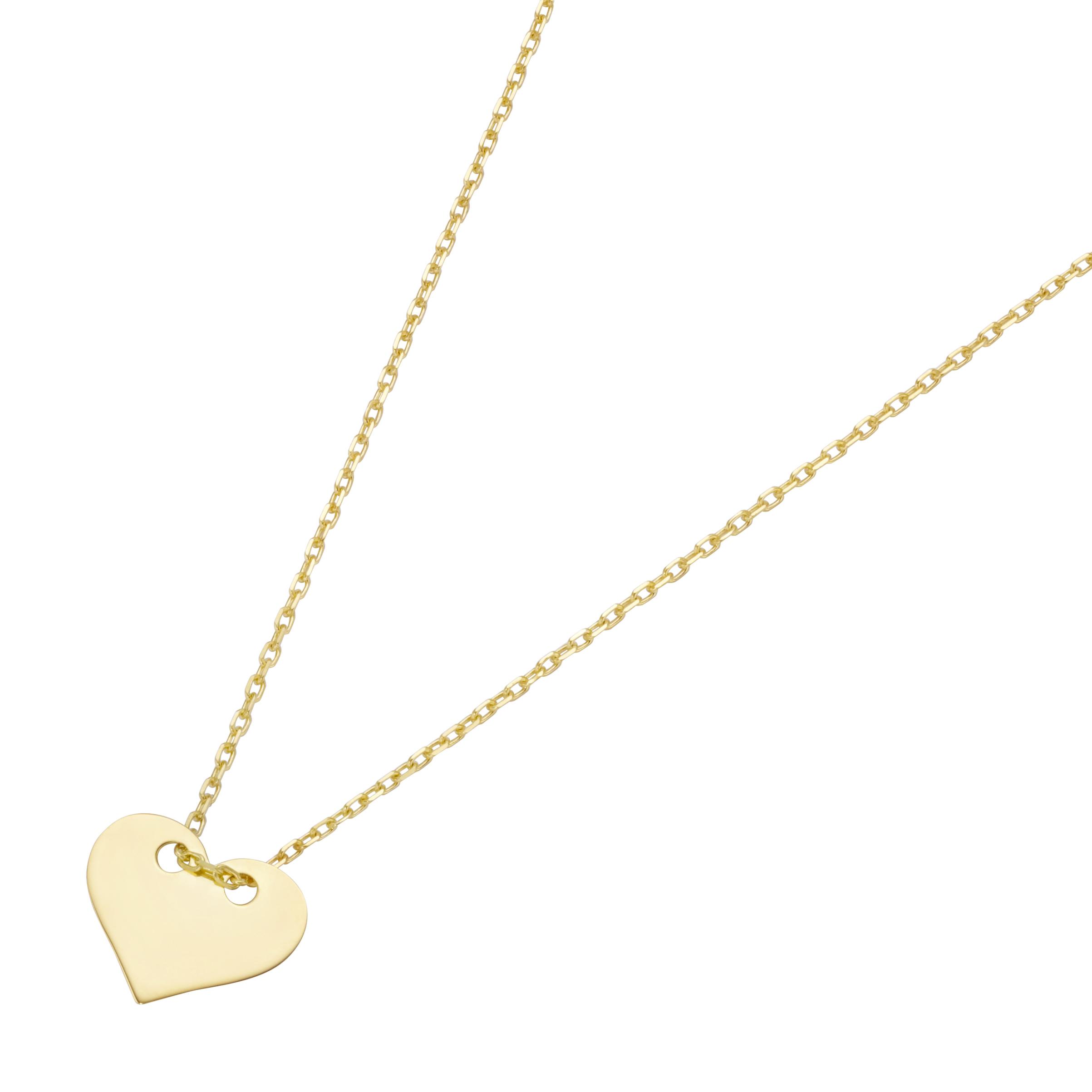 Anhänger mit Herz, Gold 375