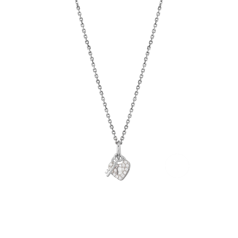 Halskette XS3410K Rhodiniert