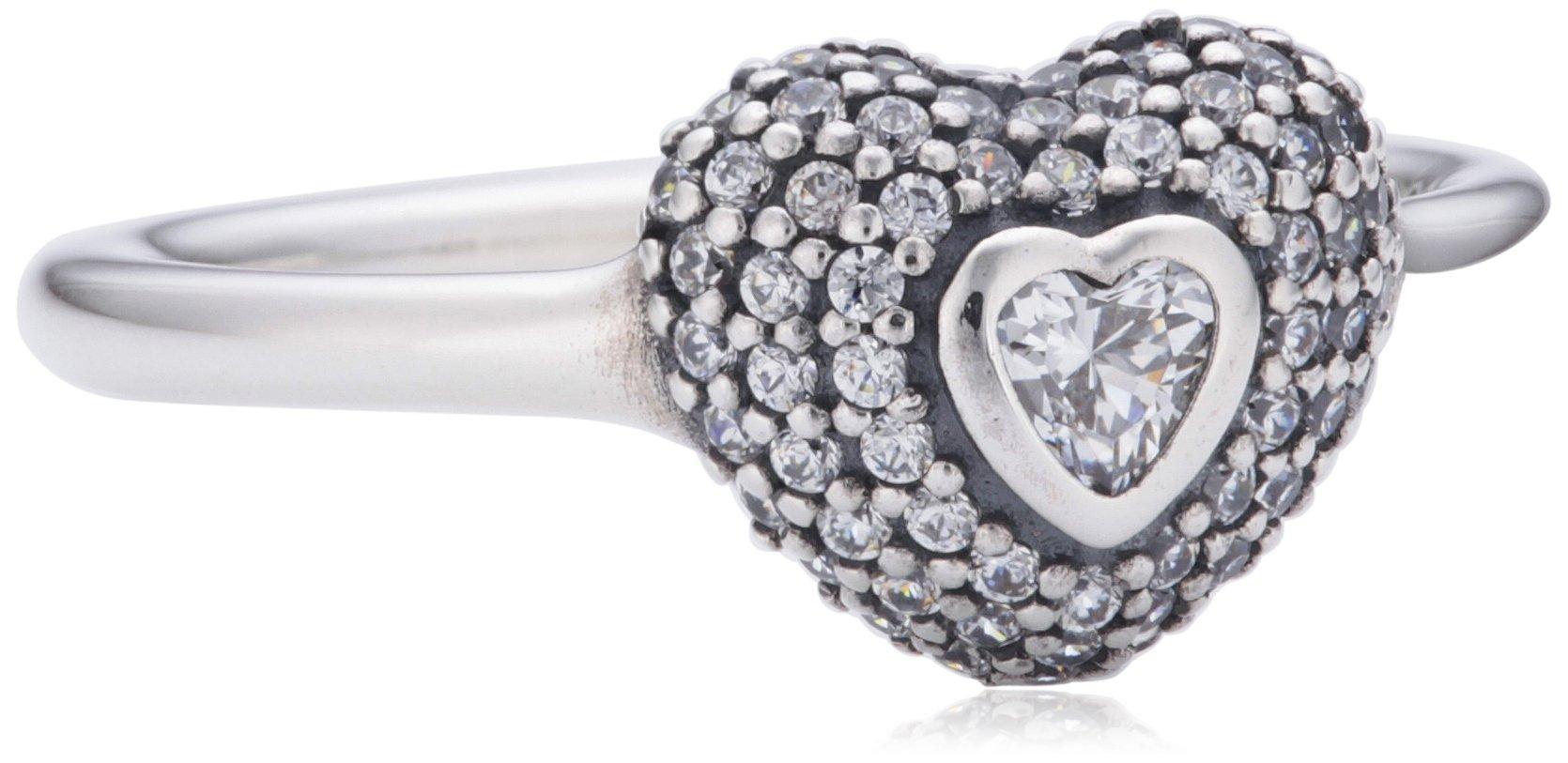 Damen-Ring 925 Silber Zirkonia transparent 190877CZ