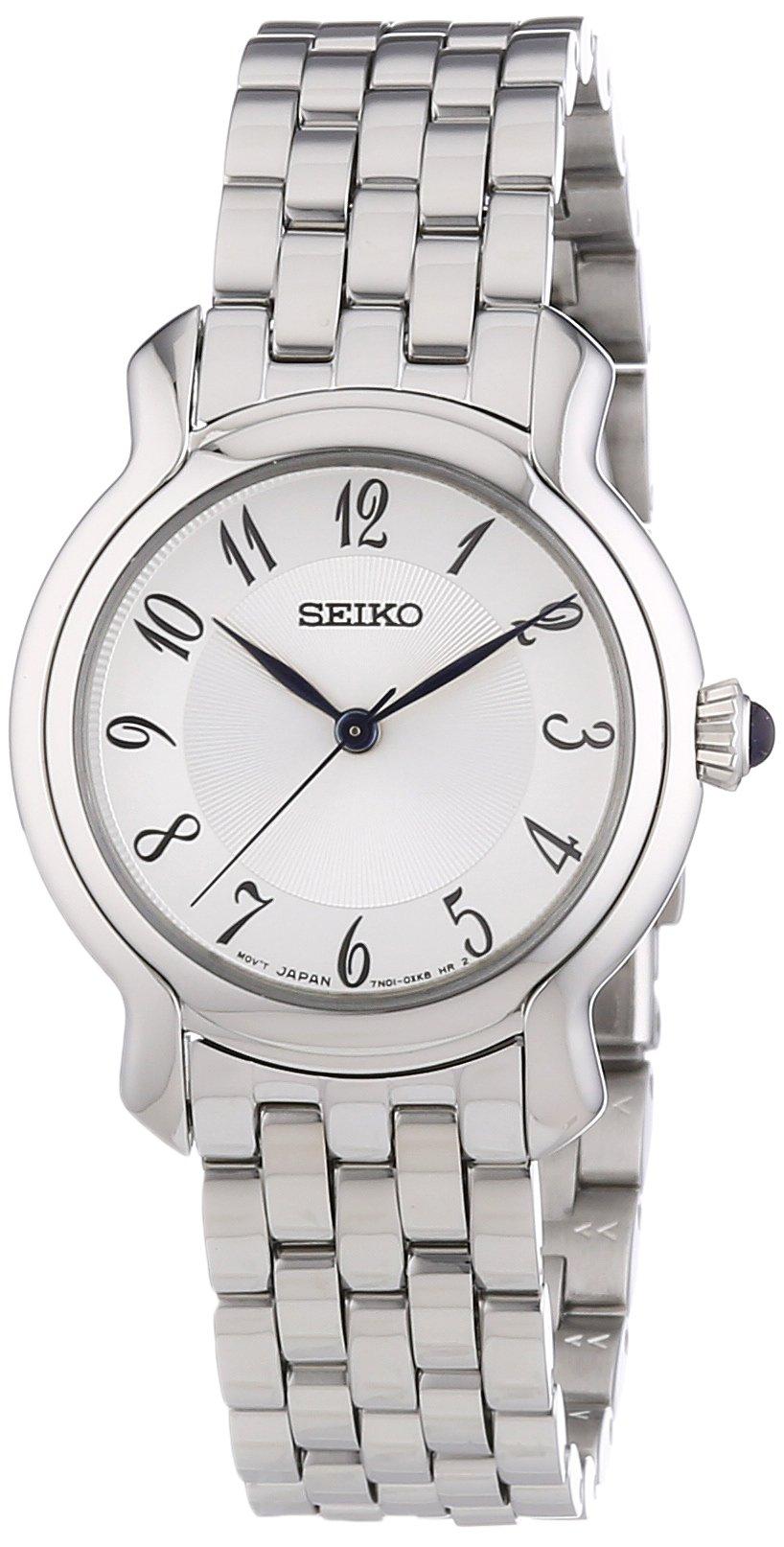 Damen-Armbanduhr XS Damenuhren Analog Quarz Edelstahl SRZ391P1
