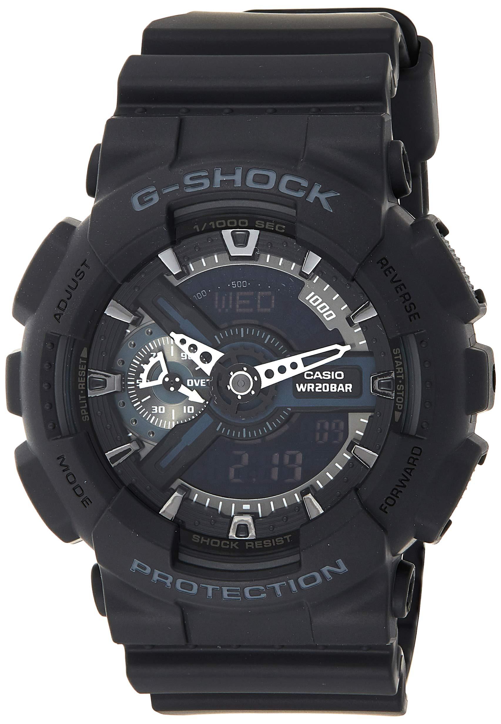 G-Shock Herren Harz Uhrenarmband GA-110-1BER