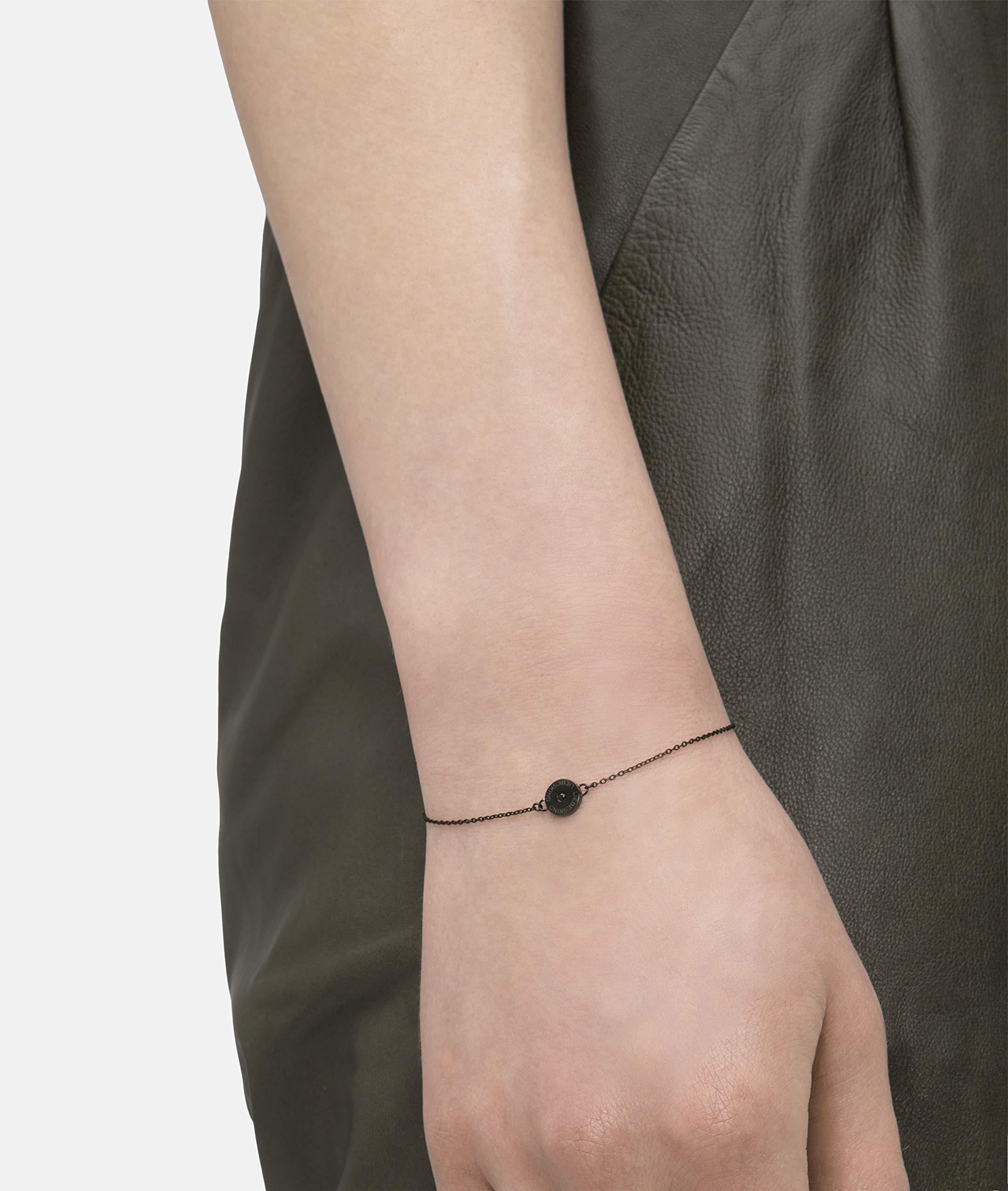 Liebeskind Armkettchen mit Anhänger Edelstahl 19 cm