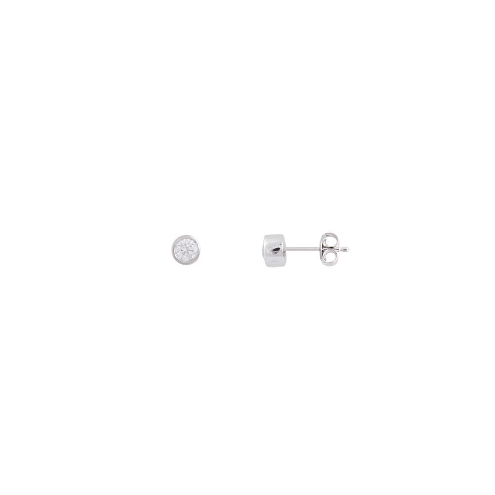 Damen-Ohrring, Silber, Silver Circle XS7122