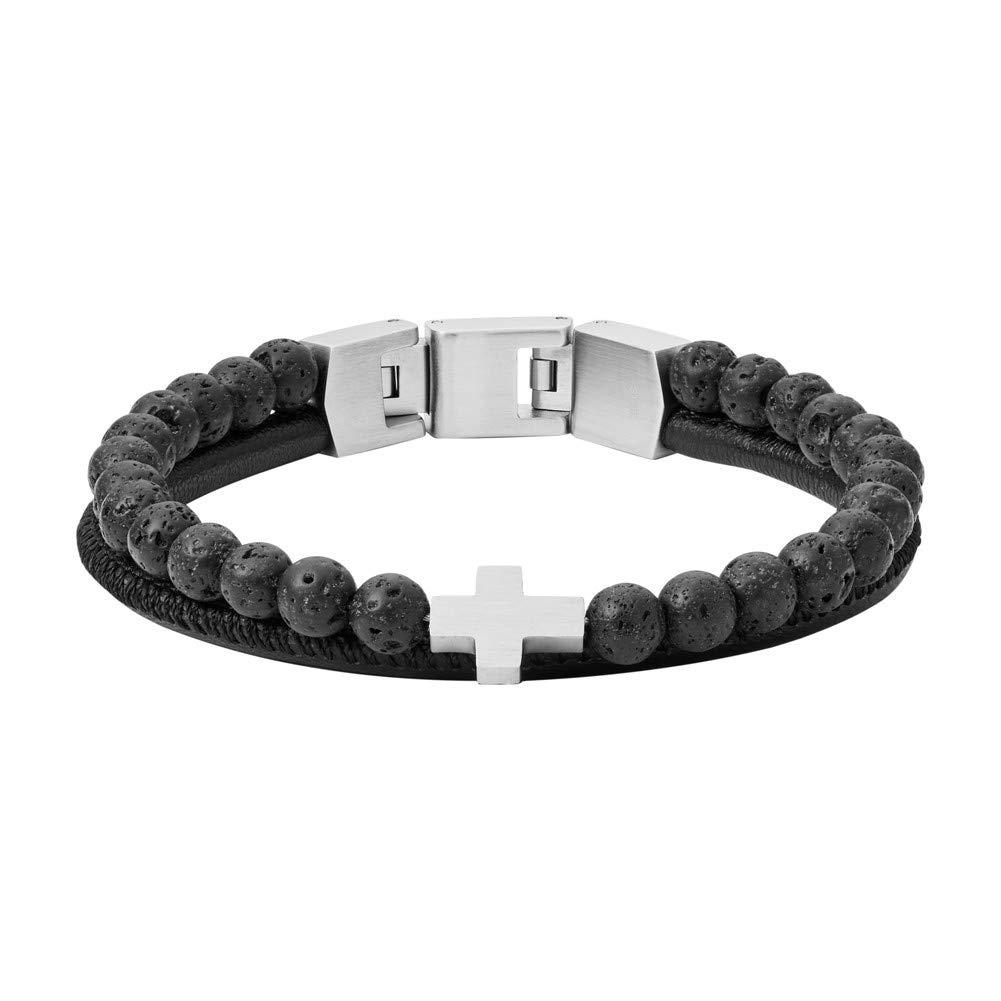 Herren Armband mit Armband JF03120040