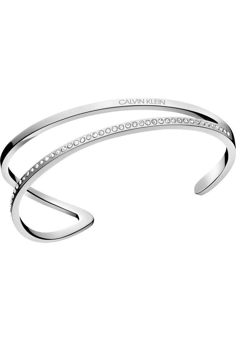 Damen-Armband Outline Edelstahl M Silber 32011442