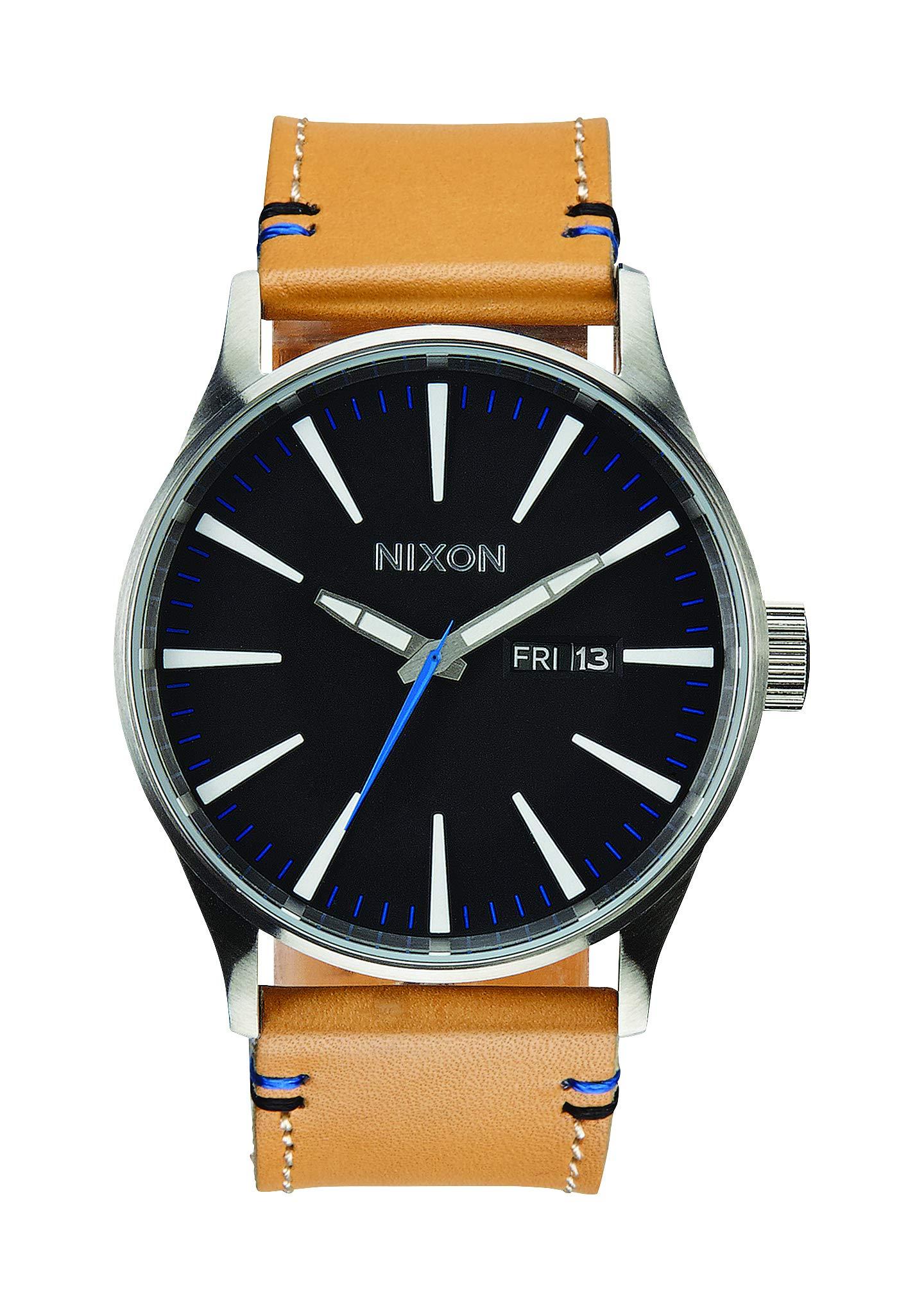 Herren Analog Quarz Uhr mit Leder Armband A1051602-00