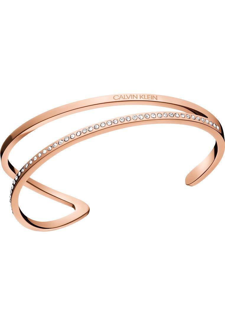 Damen-Armband Outline Edelstahl M Roségold 32011442