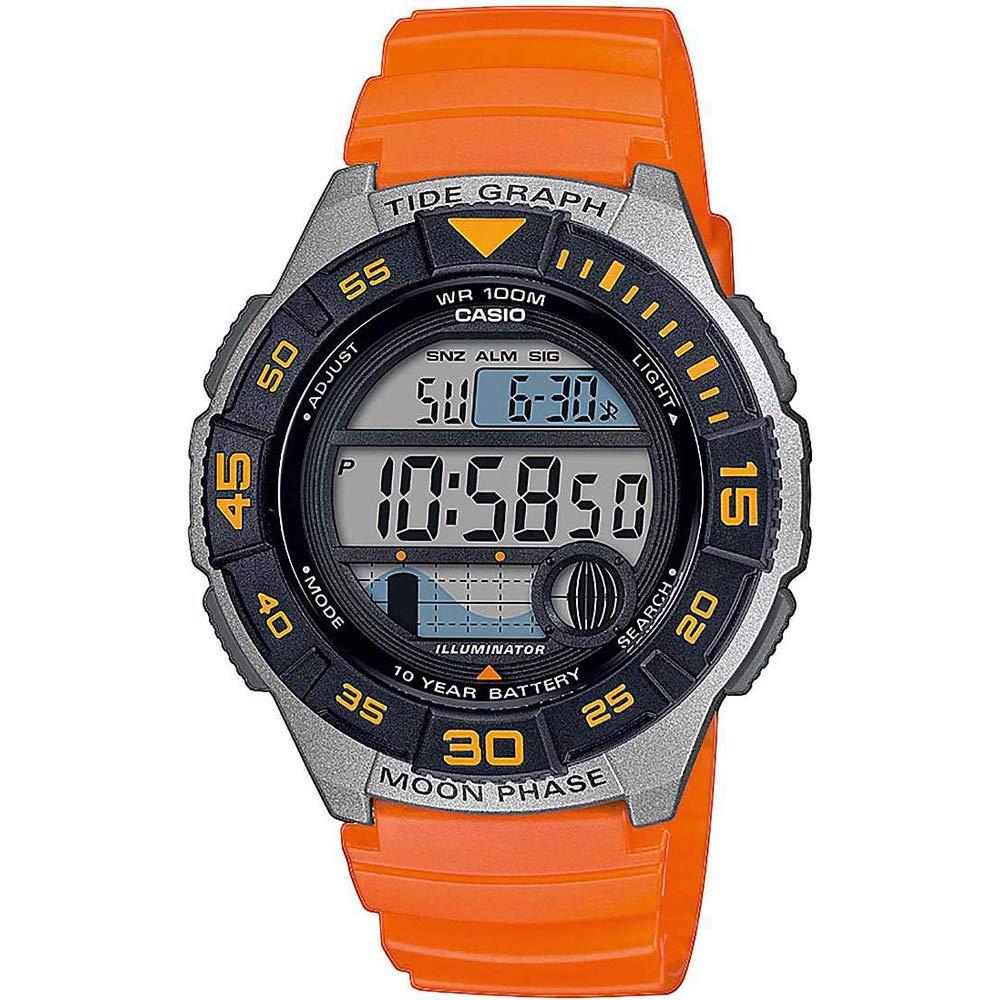 Herren Digital Quarz Uhr mit Resin Armband