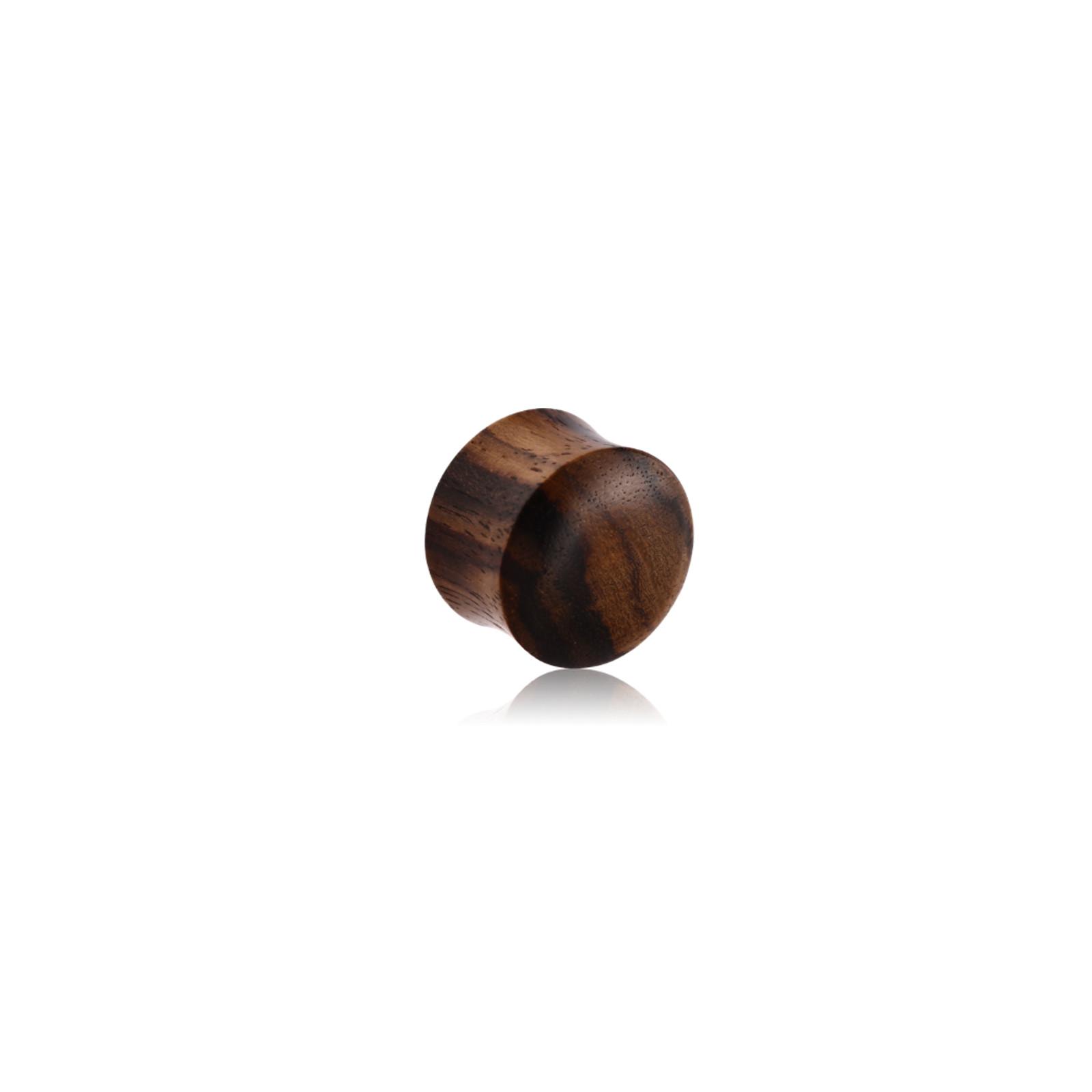 schwarz-braunes Holz