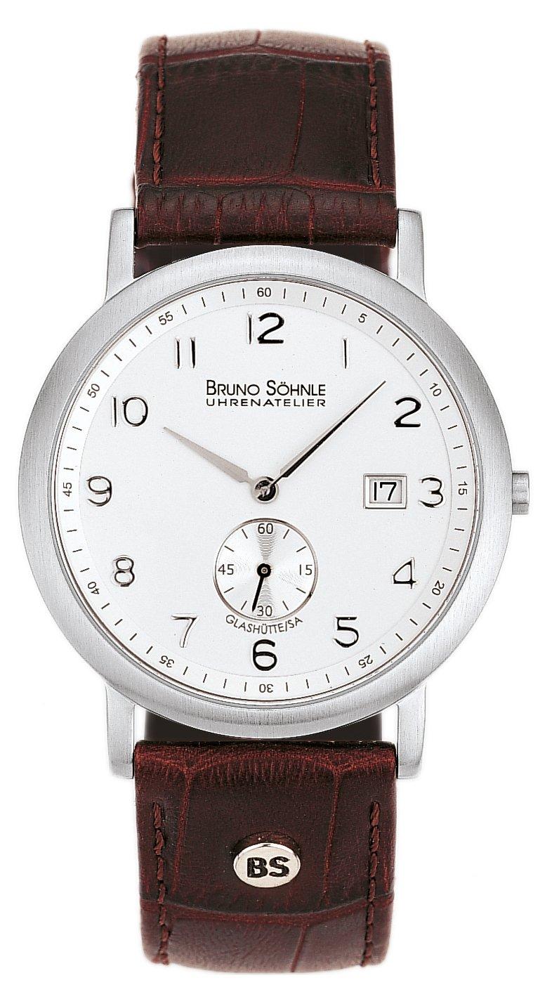 Herren-Armbanduhr Prato Analog Quarz Leder 17-13036-221